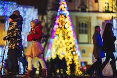 Christmas Lights | Kaunas, Lithuania #350/365
