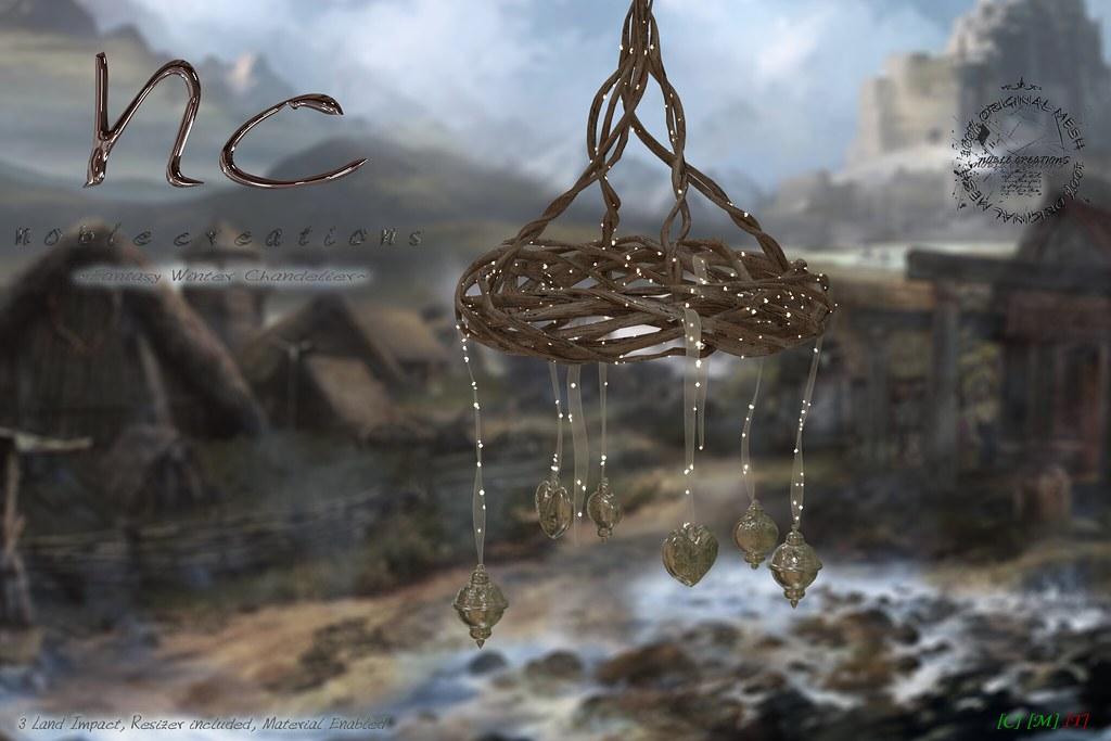 [NC] – Fantasy Winter Chandelier – Cosmopolitan Event 2outof2