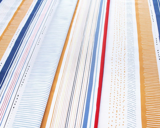 Art Gallery Fabrics Aligned Line Study
