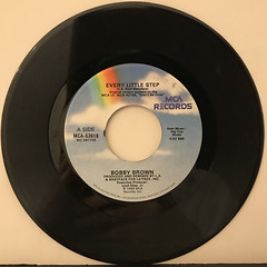 BOBBY BROWN:EVERY LITTLE STEP(RECORD SIDE-A)