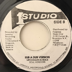 MITCHAGAN & SMILIE:RUB A DUB STYLE(LABEL SIDE-B)