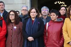 dv., 15/12/2017 - 11:43 - Minut de silenci per recordar i condemnar la darrera víctima de violència masclista a la ciutat
