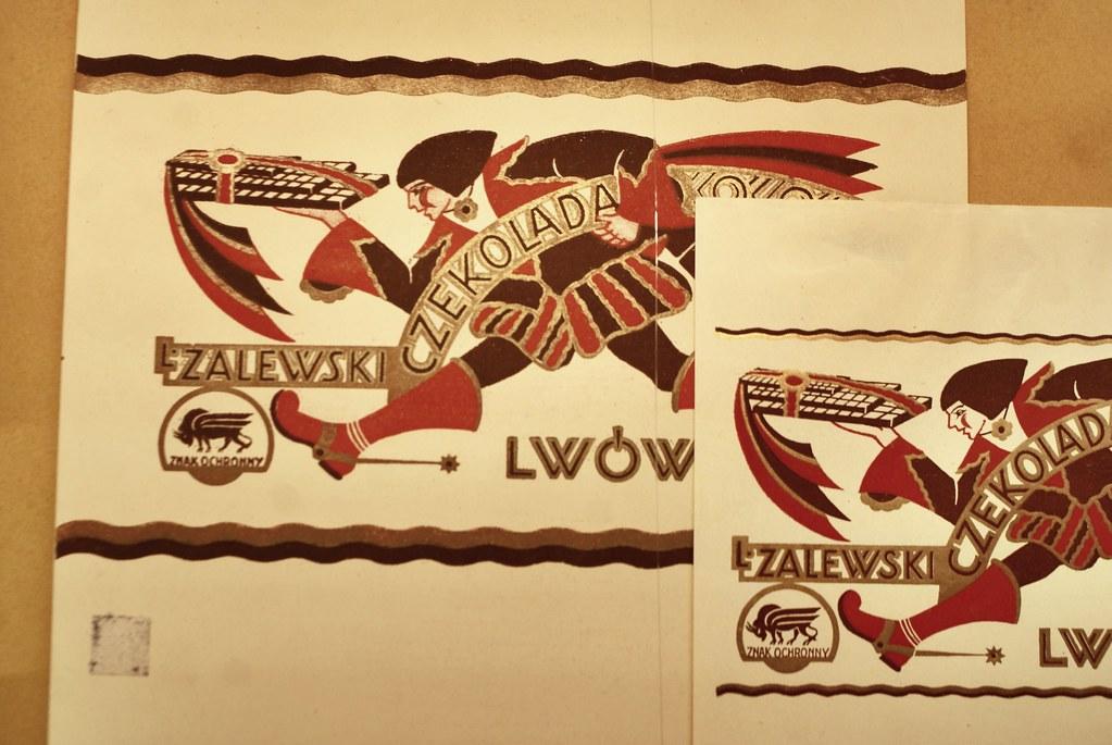 Chocolat Zalewski - Expo sur le modernisme à Lwow au MCK à Cracovie.