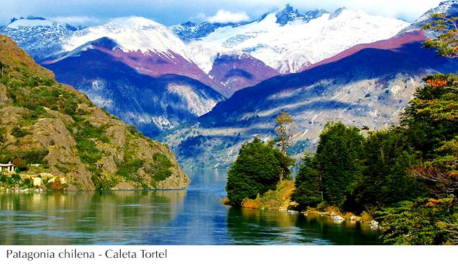 Patagonia chilena- caleta Tortel