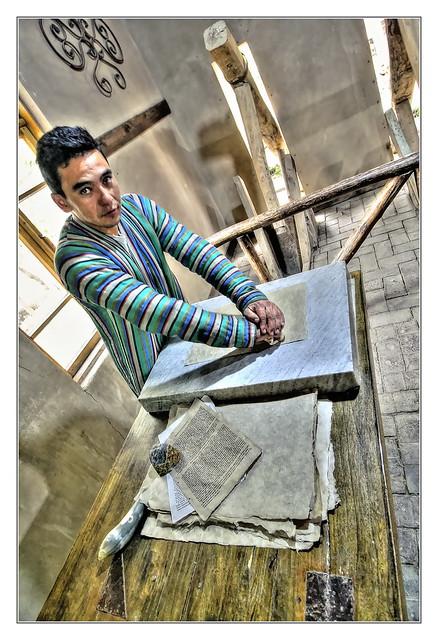 Konigil UZ - Silk Paper factory 04