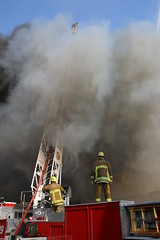 LAFD Battles Major Emergency Fire at Panorama City Strip Mall