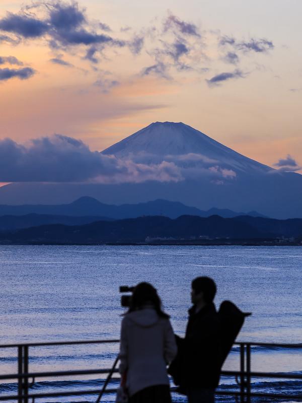 江ノ島 夕焼け