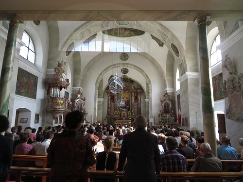 20170615 05 122 Jakobus Satteins Fronleichnam Kirche Altar