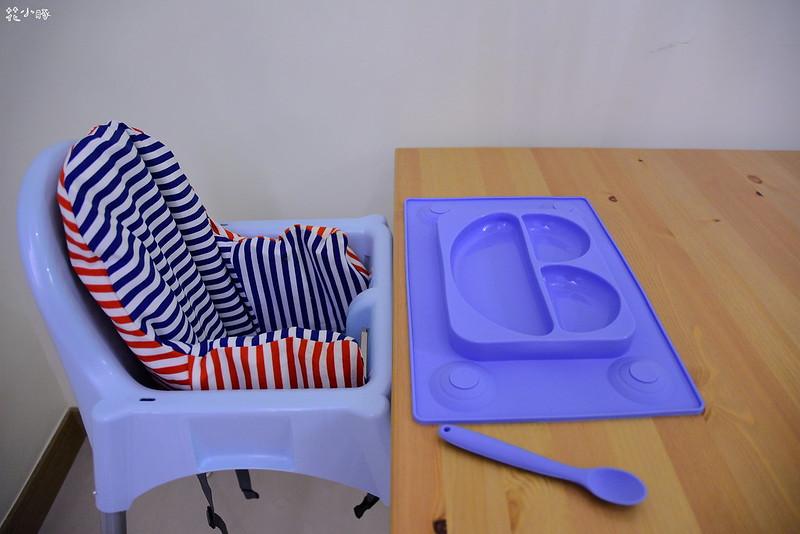 easymat餐盤防拔嬰兒餐具吸盤嬰兒餐具推薦嬰兒副食品餐具推薦EasyMat防滑矽膠餐盤 (5)