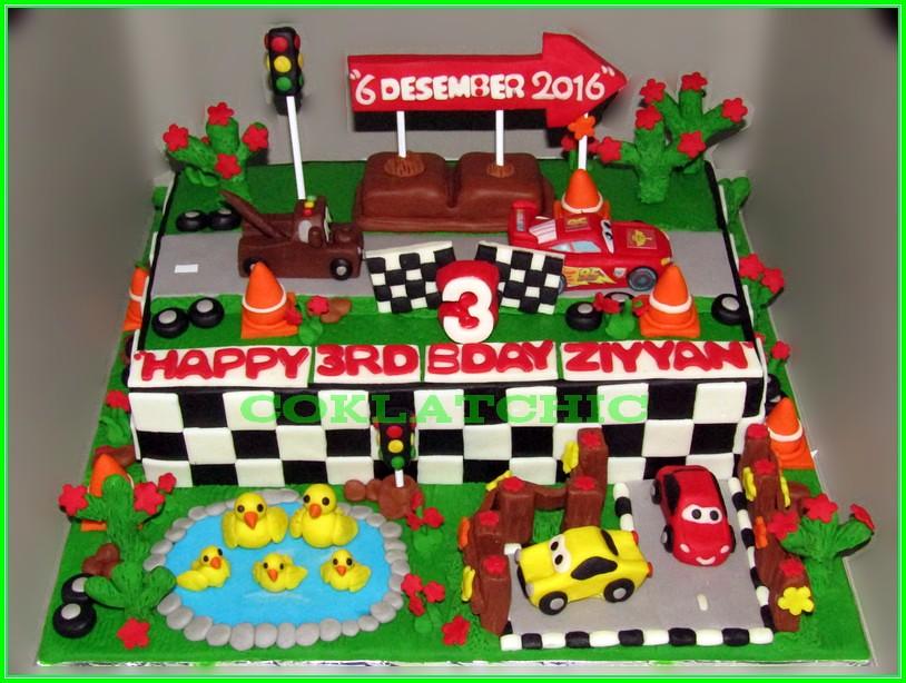 cake disney Cars Ziyyan 18x27