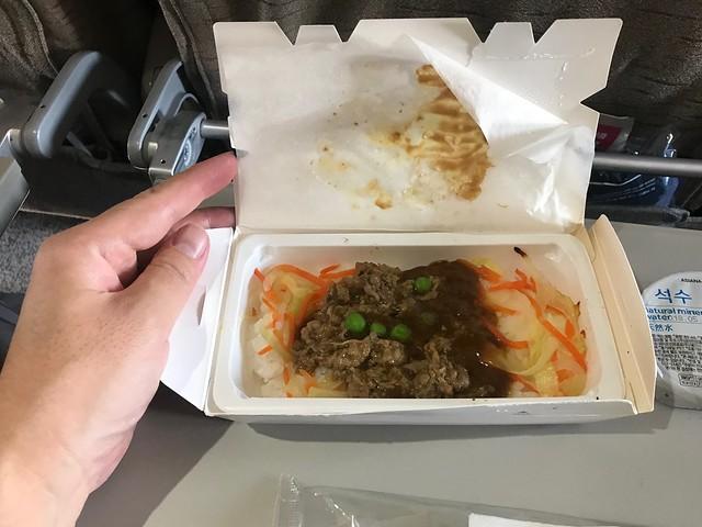 アシアナの機内食