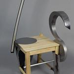 Dave Mazza; Item 126 - in SITu: Art Chair Auction