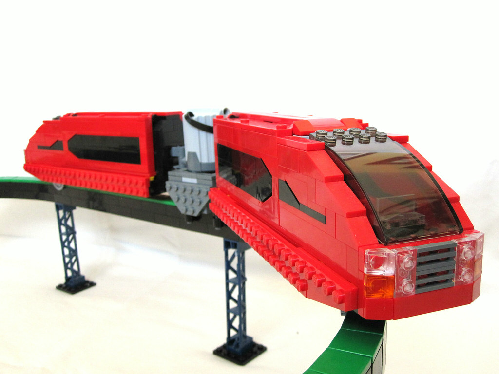 Lego monorail (custom system)