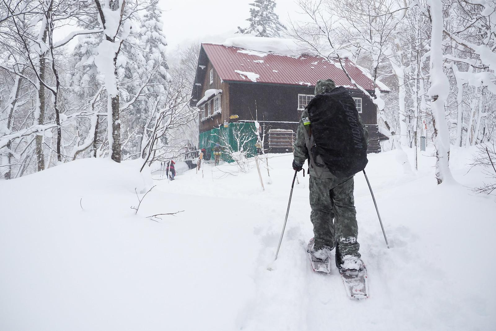 Mt. Haruka Ginreiso Hut Overnight Winter Trip Dec 2017 (Hokkaido, Japan)