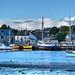Shipyard at Millbrook Lake, Cornwall