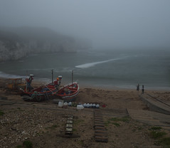 Foggy Flamborough.
