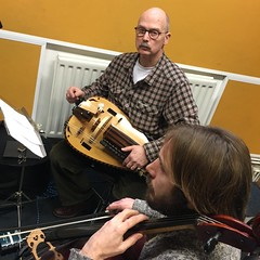 Fear Of The Forest and Dan Lyons performing live in session on The deXter Bentley Hello GoodBye Show on Resonance 104.4 FM in Central London on Saturday 16th December 2017.