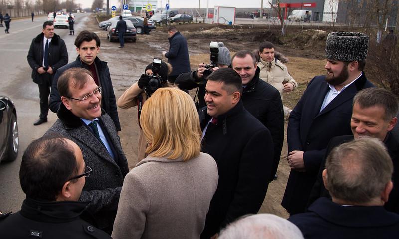 Официальный визит  в АТО Гагаузию вице Премьер-министра Республики Турция Хакан Чавушоглу