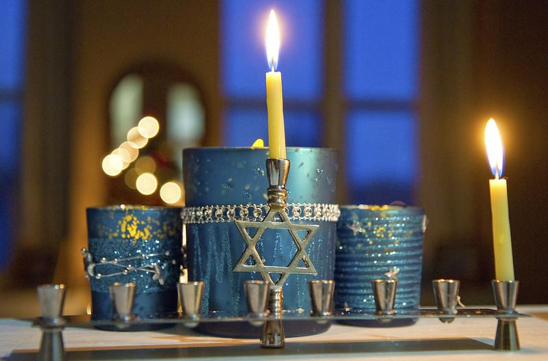 Hanukkah night one