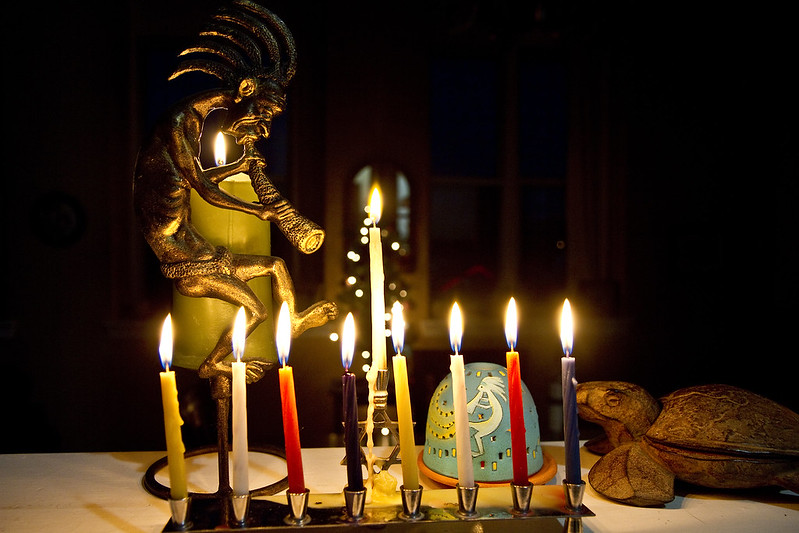 Hanukkah night eight