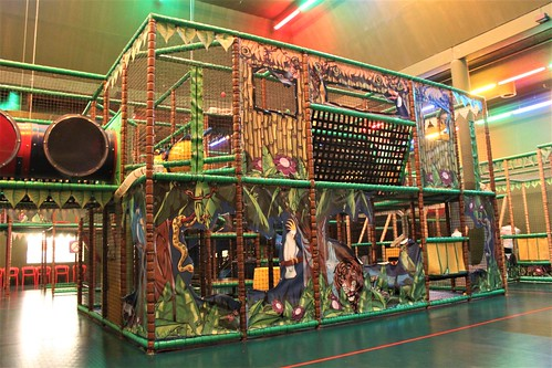 indoor playground monkey tonkey land