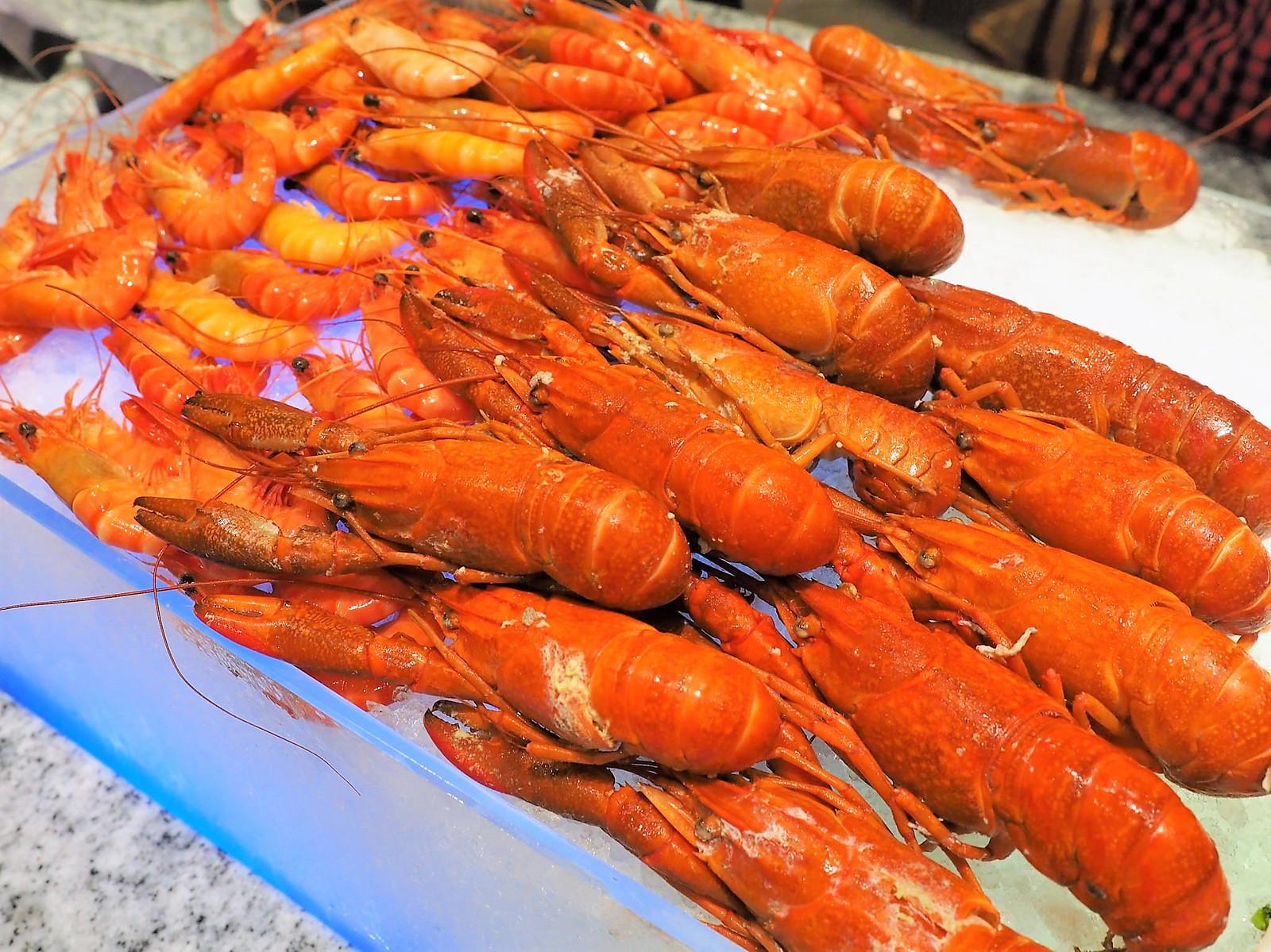 Yabby and prawn on ice at Feast @ Sheraton Petaling Jaya