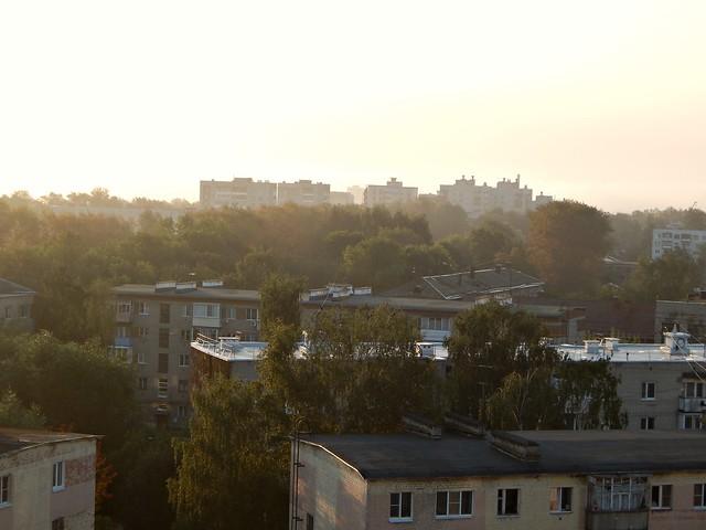 Крыши во Владимире   Rooftops in Vladimir, Russia
