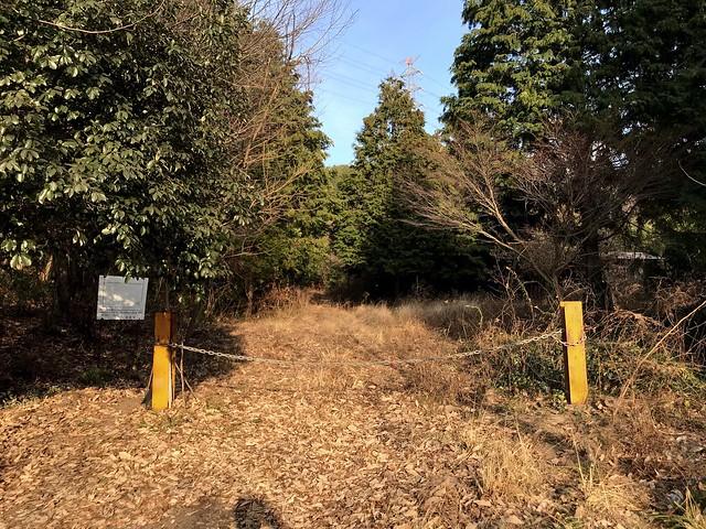 源太峰 林道ゲート