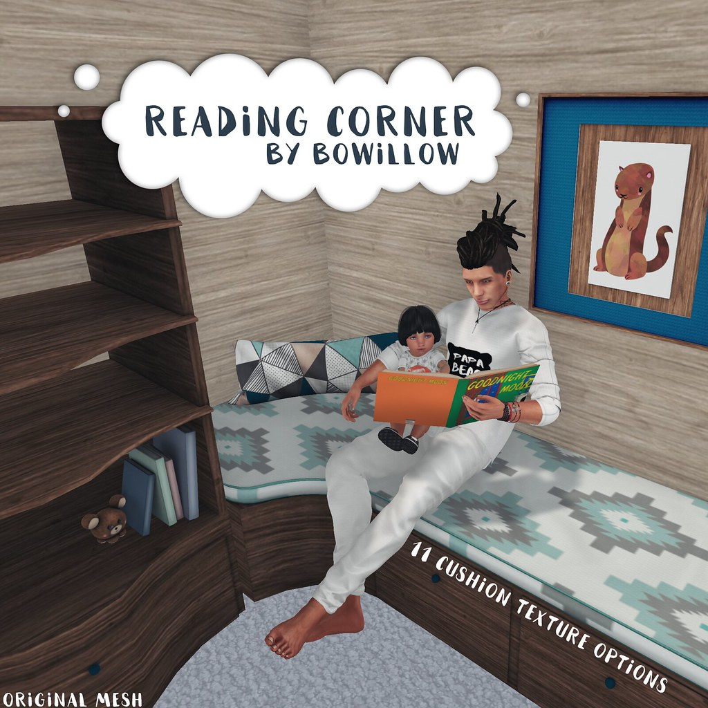 Reading Corner Ad