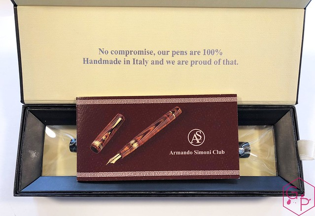 Review @ASCPens Bologna Wild Dark Side Fountain Pen - Magic Flex 2