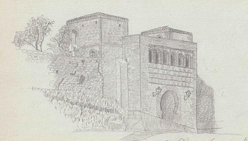 Burgos. Arco de San Esteban