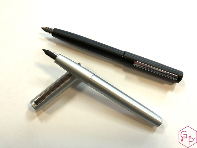Review Lamy Aion Fountain Pen - Black & Olive Silver @AppelboomLaren 16