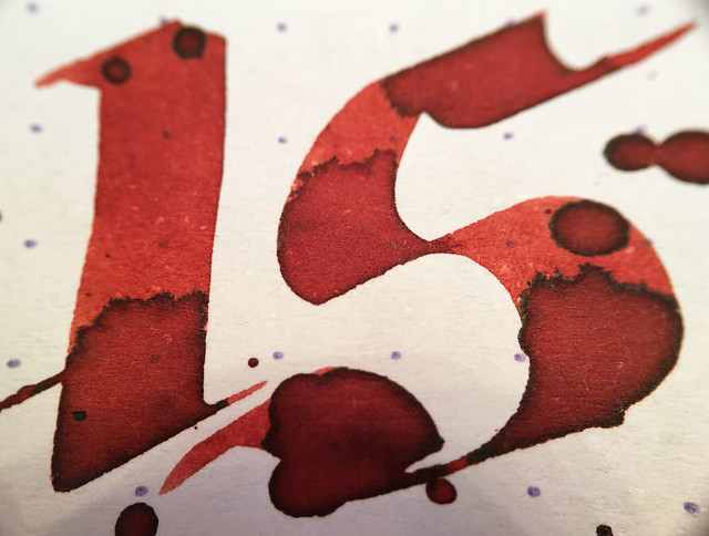 Ink Shot Review Franklin-Christoph Urushi Red @1901FC 10