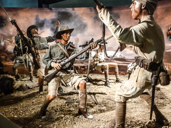 bayonet charge diorama