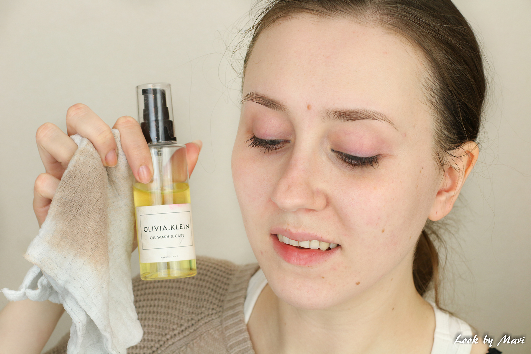 7 olivia klein wash cloth oil wash& care makeup remover oil review prize