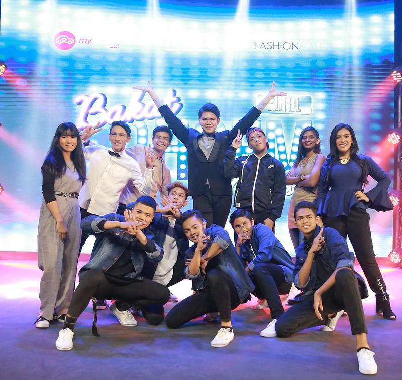 Kesemua lapan peserta akhir Bakat Ohsem Malaysia