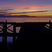 Soft Misty Blue Sunset