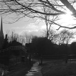 St Walburges and St Marks churches in Preston