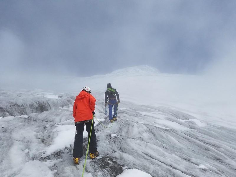 Cayambe • Glacier Skills Review