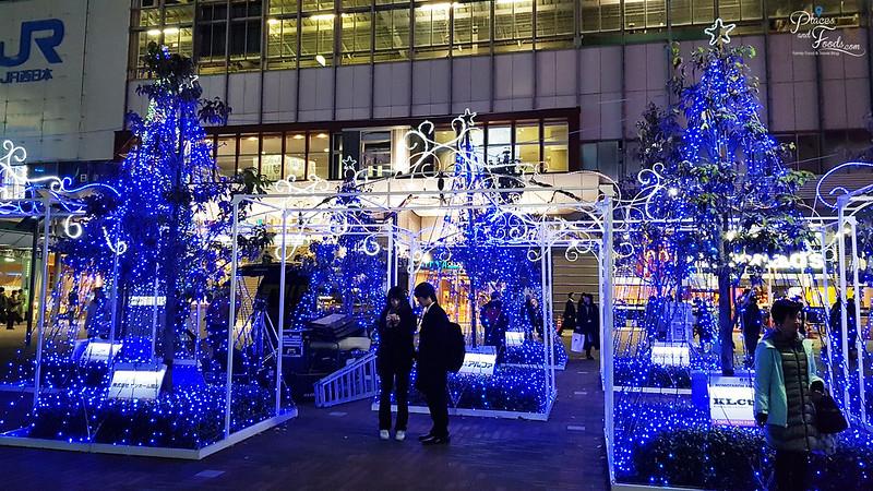 Okayama MOMOTAROH FANTASY blue light