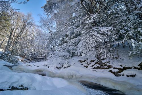 winter canada 2017 arrowhead provincial park ontario muskoka huntsville snow december