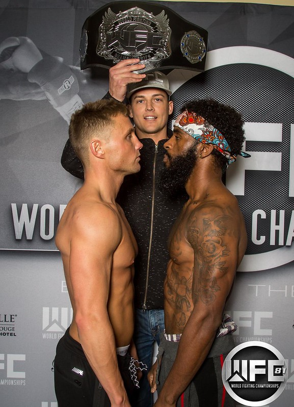 WFC 81 Weigh-Ins December 8th,2017