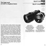 Sat, 2017-12-16 09:07 - Leica Lenses brochure (1968-74), pages 44 & 45.