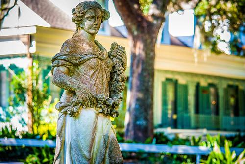 Myrtles Statue