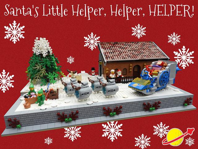 Santa's Little Helper, Helper, HELPER!