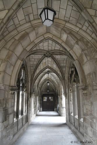Cloister, Swift Hall-Bond Chapel