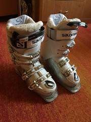 Téměř nové dámské lyžáky Salomon Idol HS Crystal W - titulní fotka