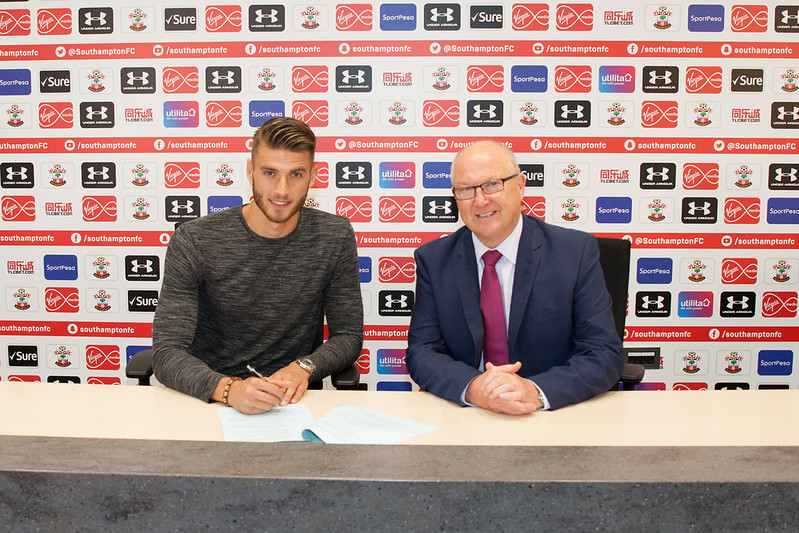 Saints New Signing Wesley Hoedt
