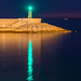Reflejo, puerto de Javea.