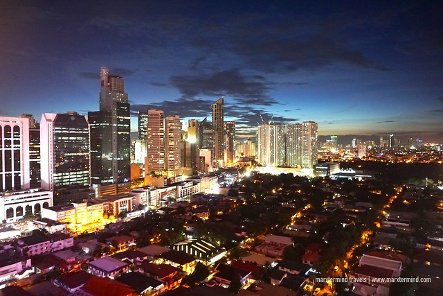 View from City Garden Hotel Makati